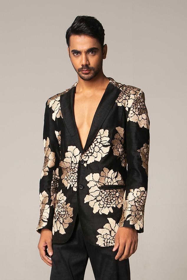 Tusser Silk Suit & Pant Set