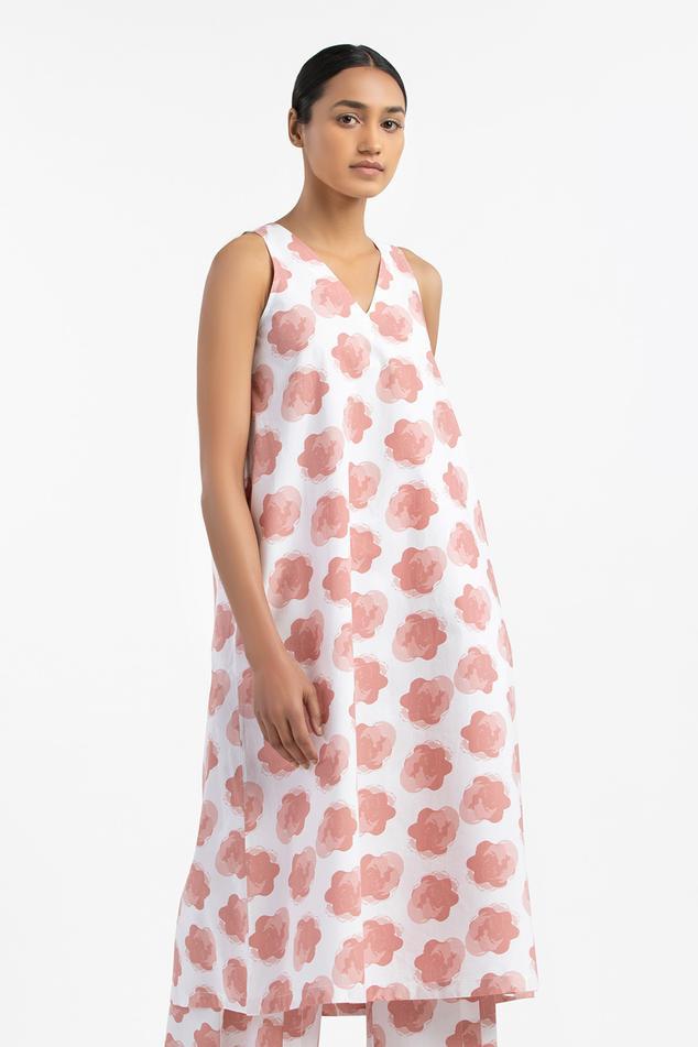 Floral Motif Dress