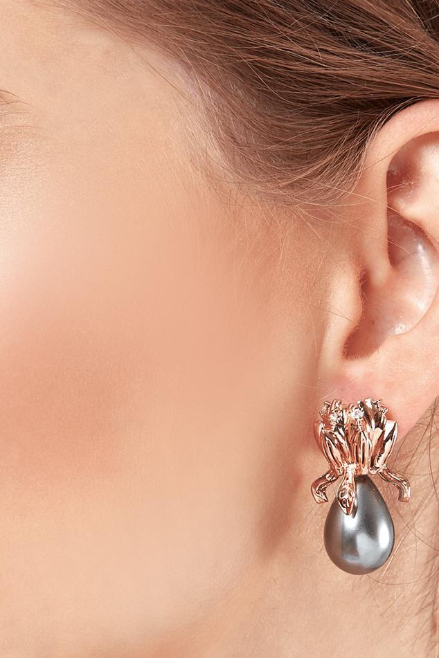 Bead Nuit Stud Earrings