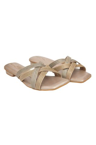 Shabab Cross Strap Sandals