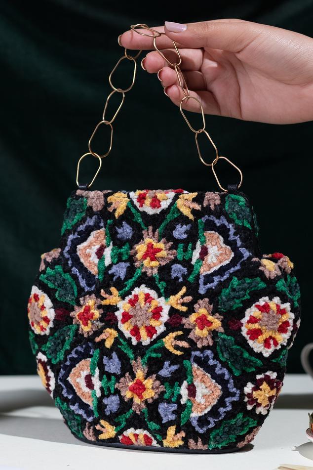Esra Velvet Bag