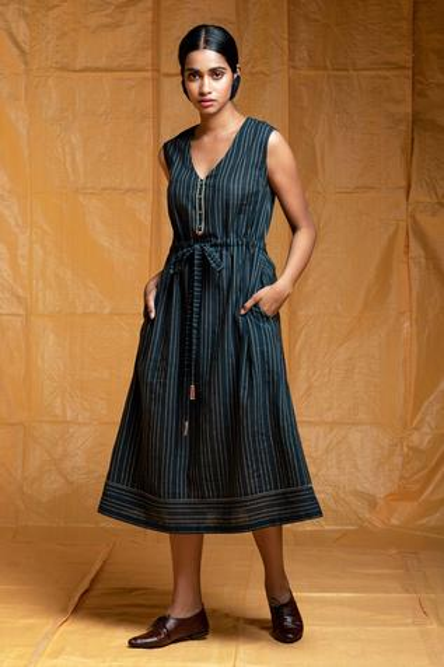 Handloom Cotton Dress