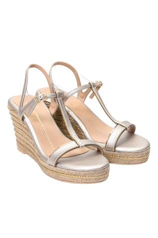 Ankle Strap Jute Wedges