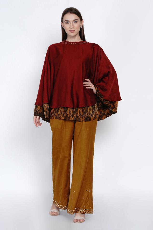Silk Straight Pant