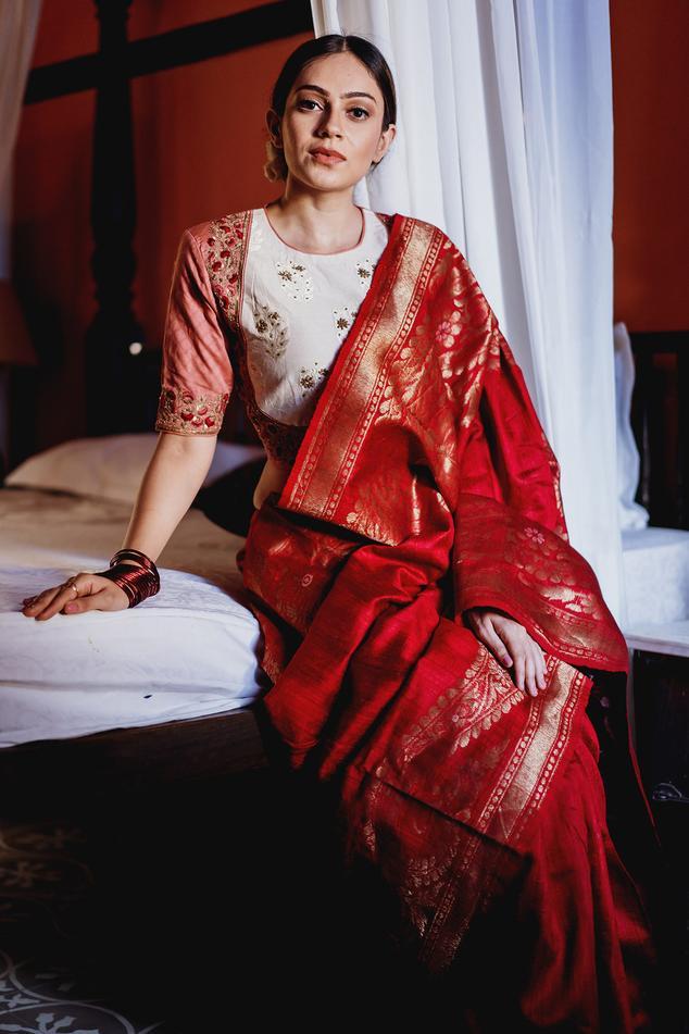 Handloom Bengal Silk Saree