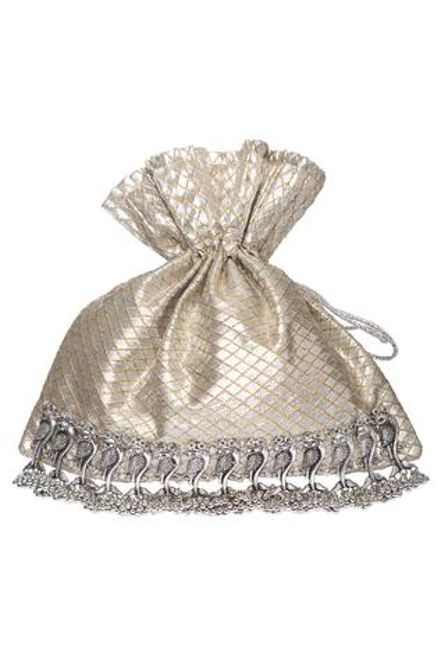Ghunghroo Tassel Potli Bag