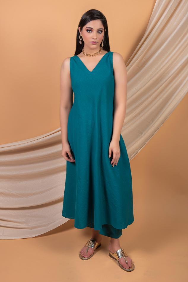 Cotton Linen Tunic Set