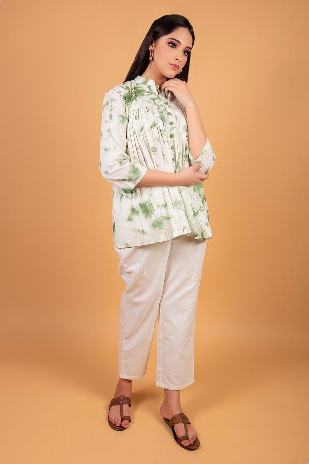 Tie-Dye Tunic Set