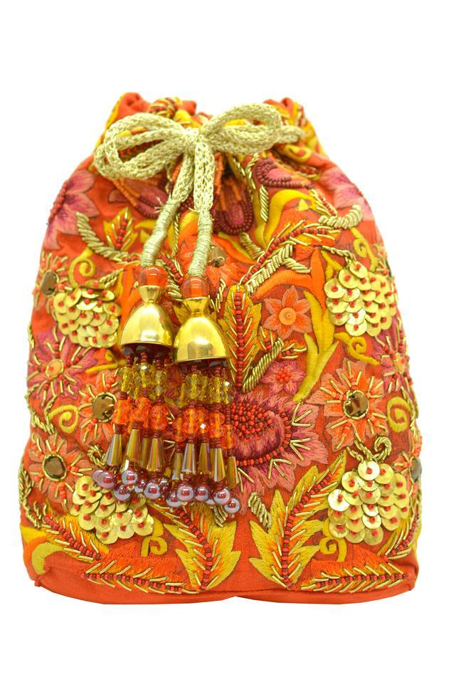 Antoine Embroidered Polti Bag