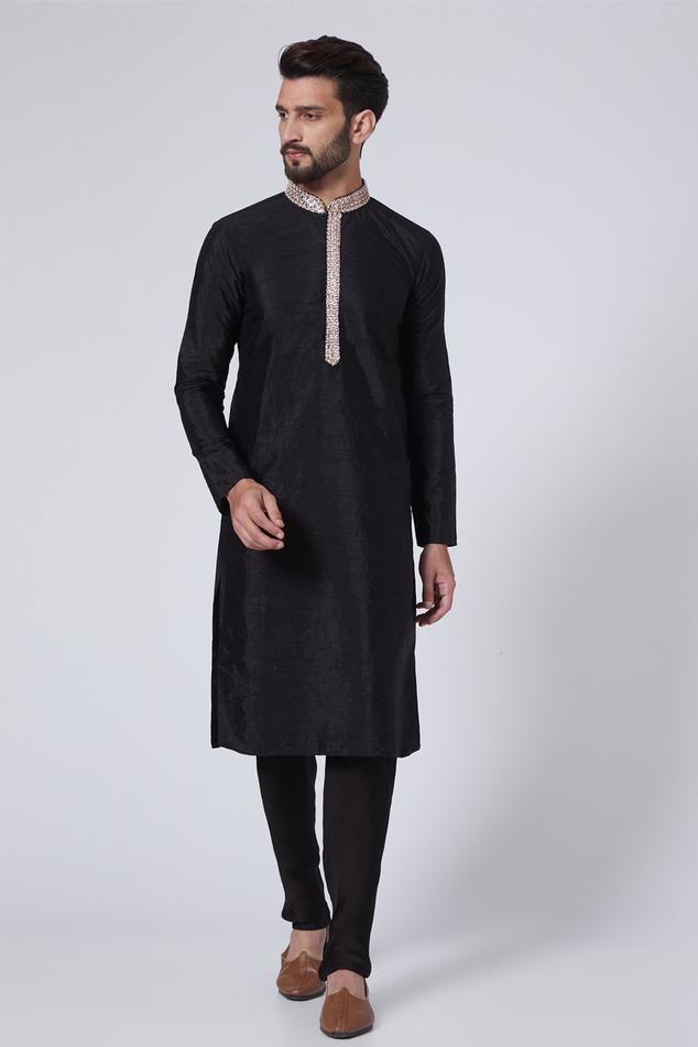Silk Kurta Set
