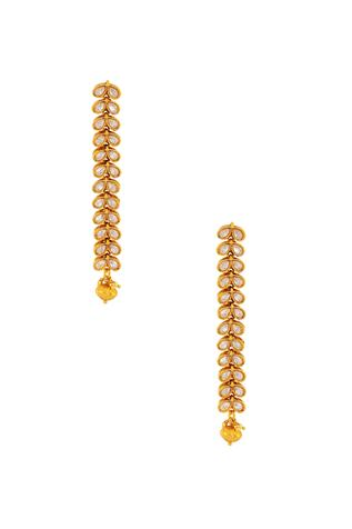 Dangler kundan earrings