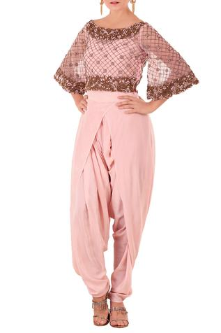 Embroiderd Dhoti Jumpsuit