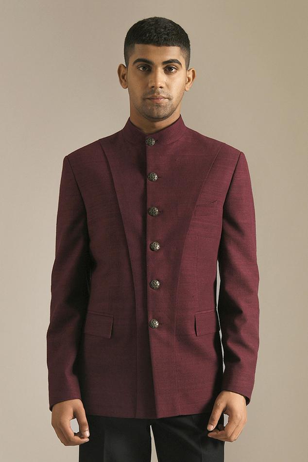 Silk Bandhgala