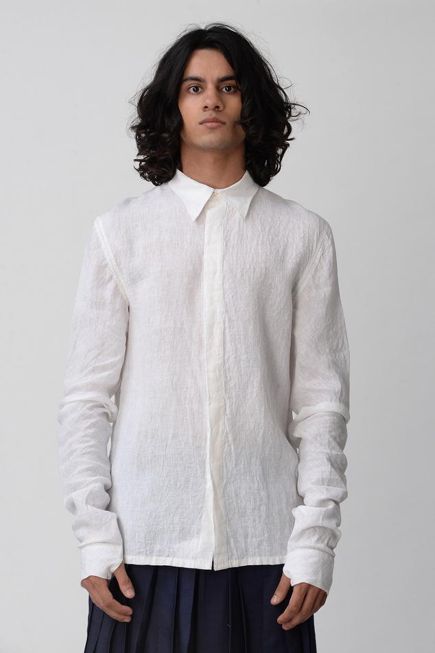 Handloom Linen Shirt