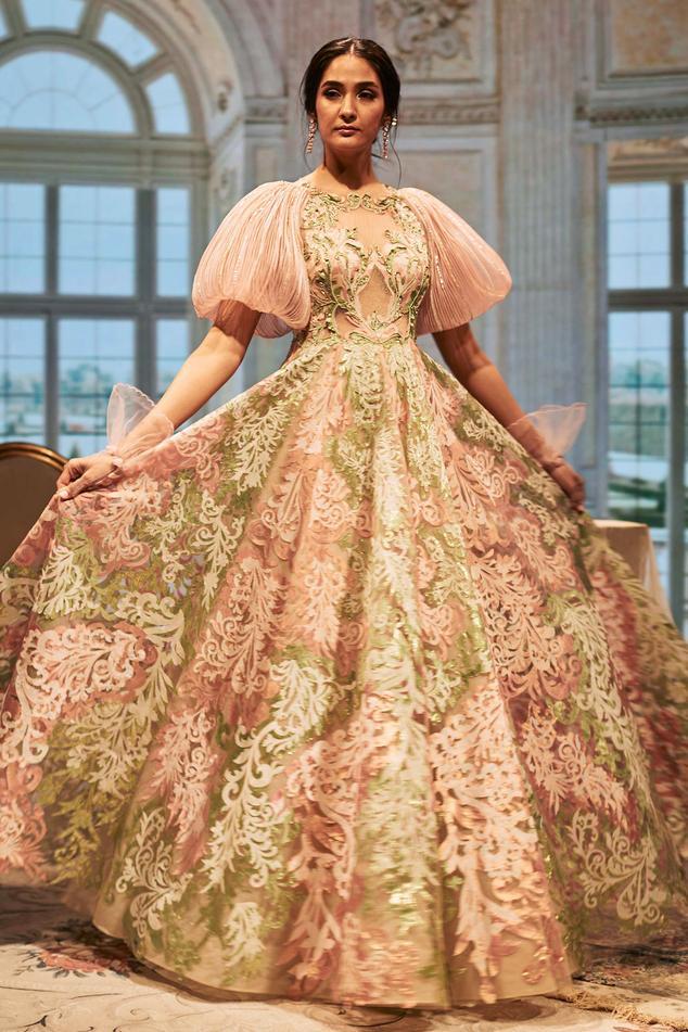 Anastasia Applique Gown