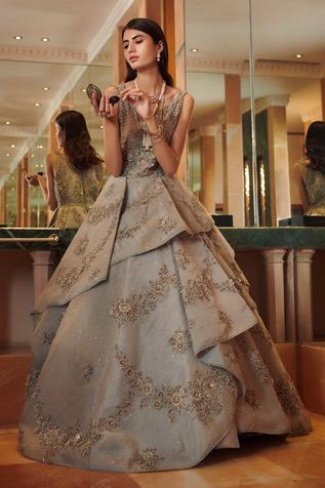 Hayat Tiered Gown