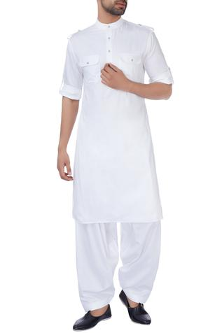 Cotton Pathani Kurta Salwar Set