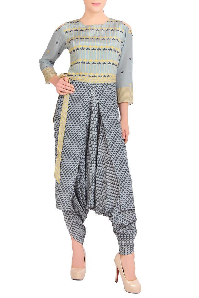 Printed Dhoti Style Jumpsuit