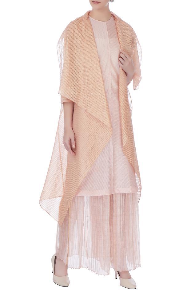 Silk Long Jacket