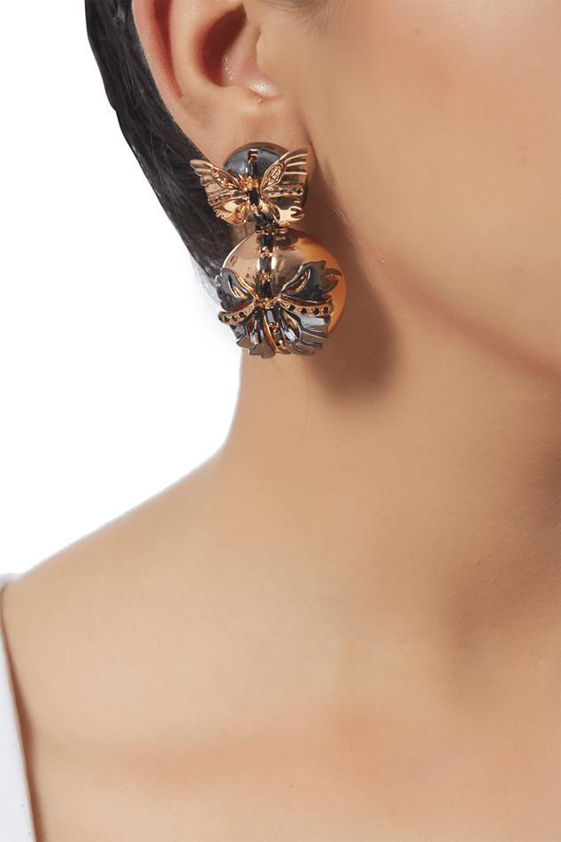 Instar Butterfly Statement Earrings