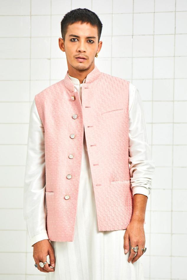 Quilted Nehru Jacket