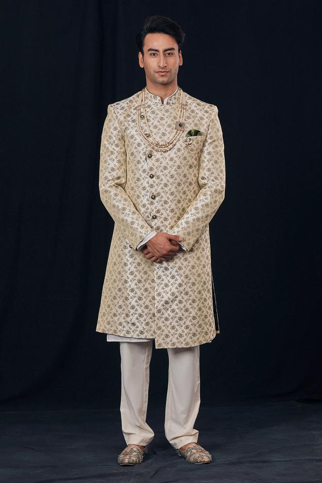 Brocade Sherwani Set