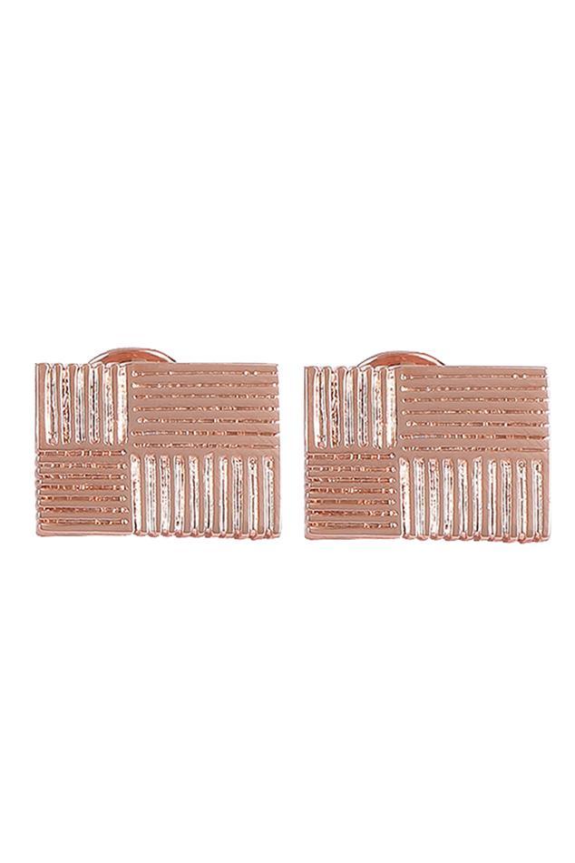 Geometric Pinstripe Cufflinks