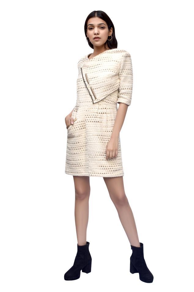 Geometric Motif Dress