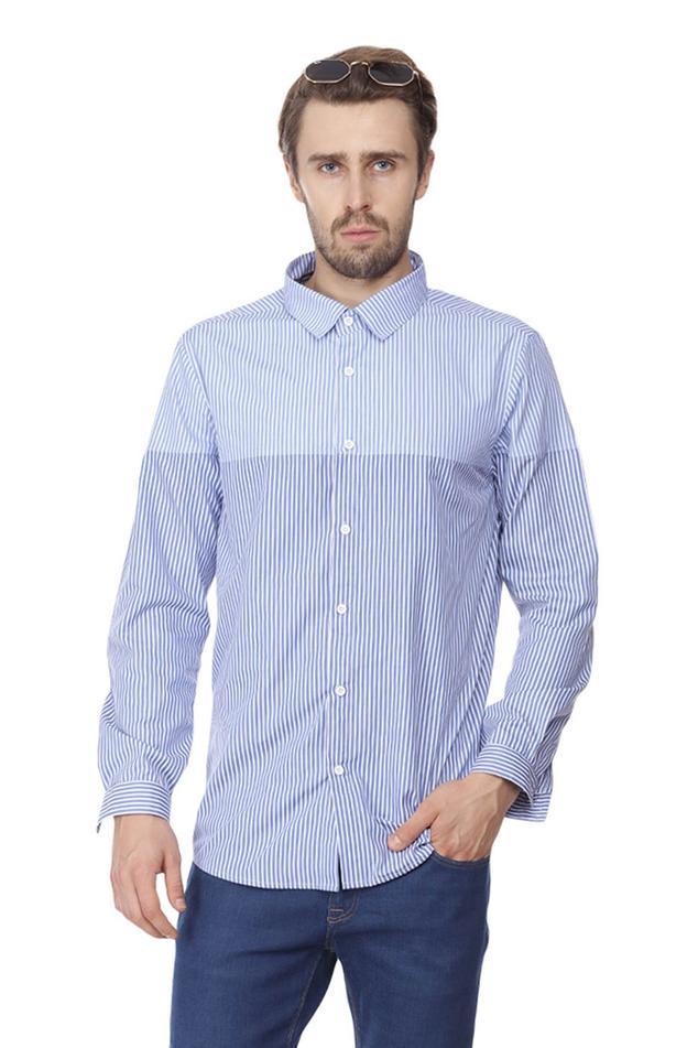 Slim-Fit Striped Shirt