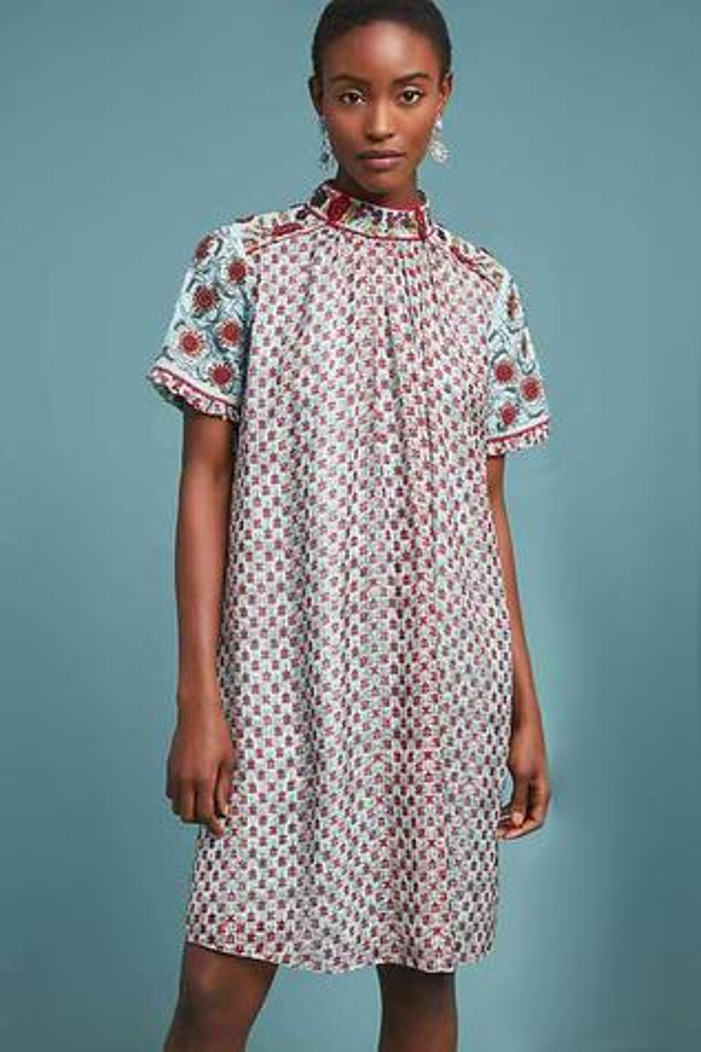 Floral Printed Short Dress