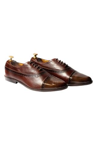 Handcrafted Brogue Oxfords