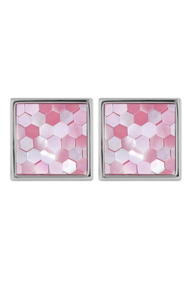 Geometric Bead Cufflinks