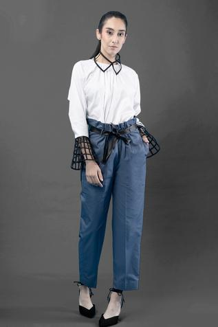 Straight Pant with Belt