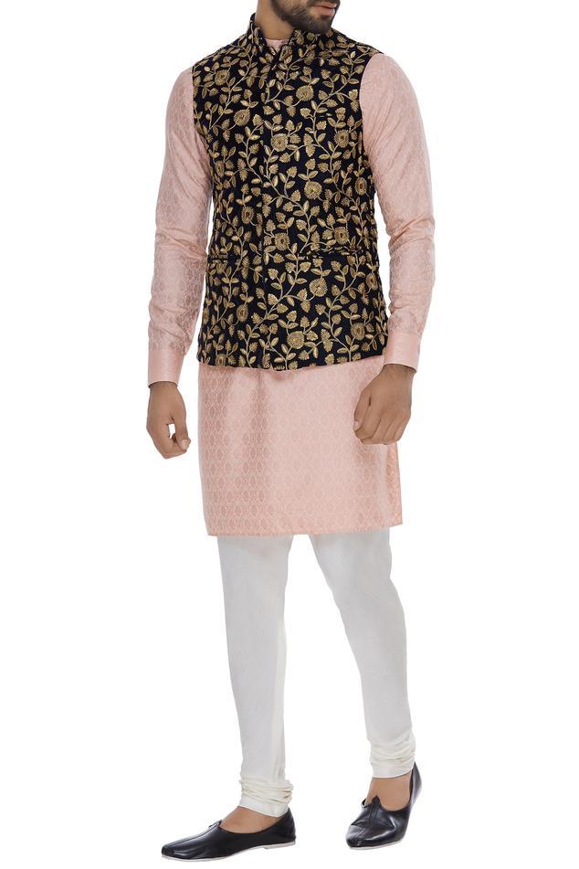 Embroidered nehru jacket
