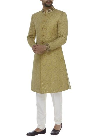 Floral Embroidered Sherwani