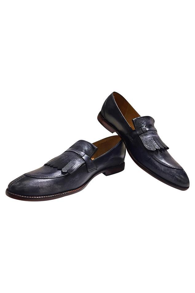 Classic Block Heel Loafers