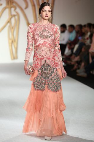 Silk Layered Gown