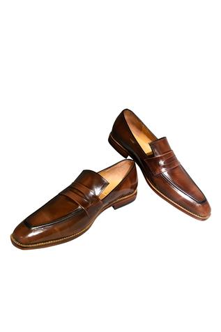 Pure leather handcrafted square toe shoes