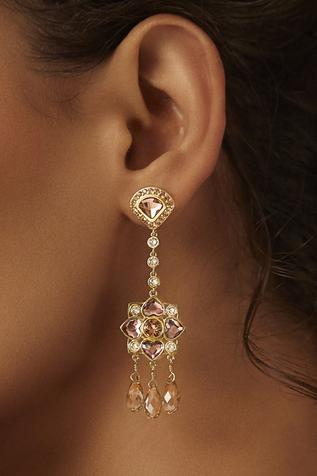 Suneet Varma pearl studded earrings