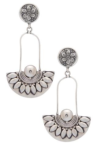 Tribal design earrings
