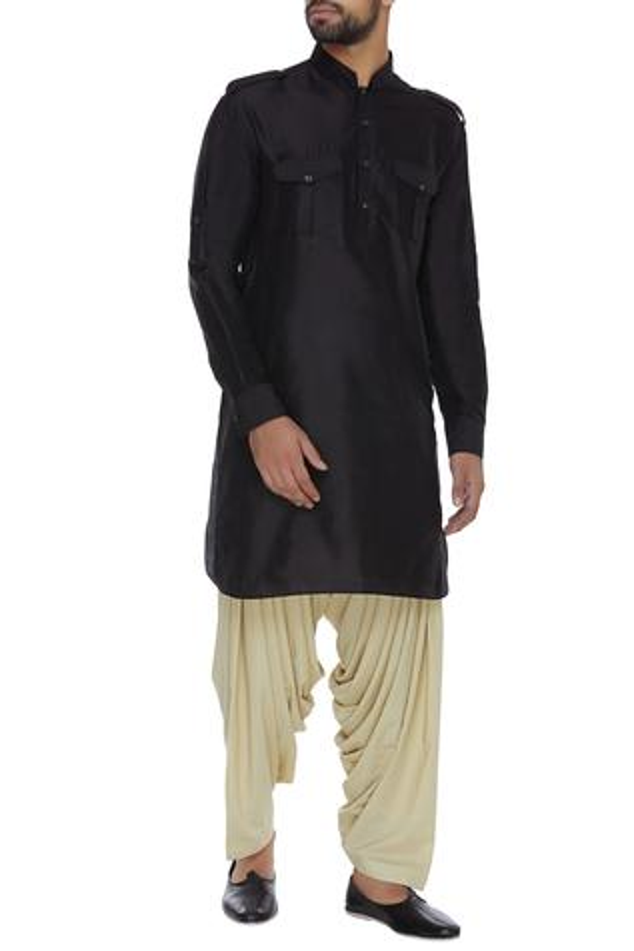 Silk Pathani Kurta