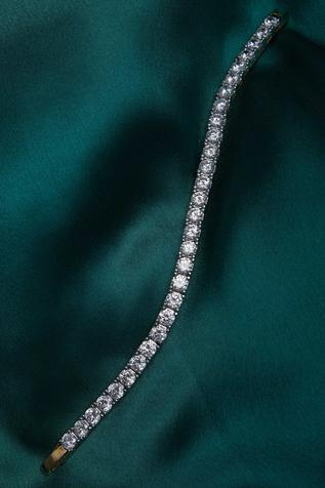Semi precious stone studded bracelet