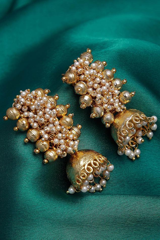 Embellished Jhumkas