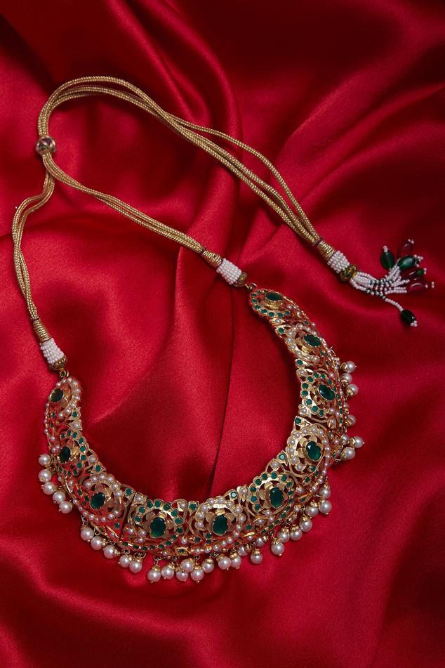 Ruby choker necklace