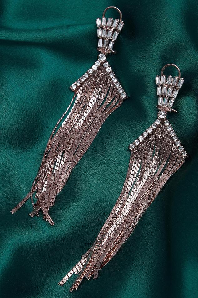 Embellished Long Earrings