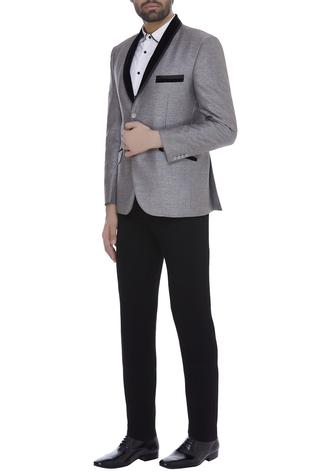 Full sleeves blazer jacket with trouser