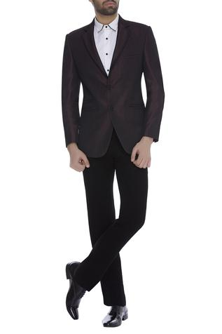 Blazer jacket with trouser pant