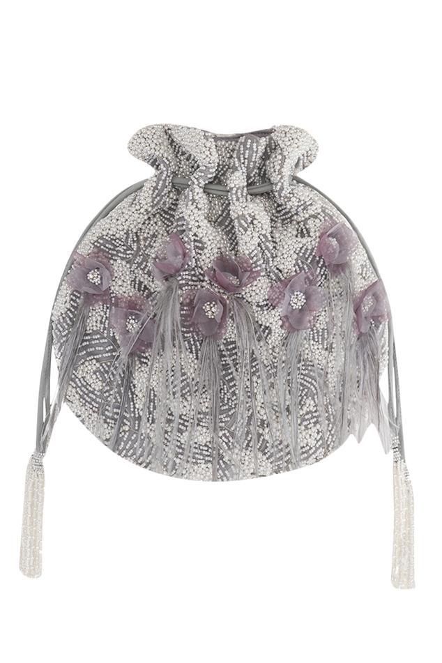 Bead Embroidered Potli