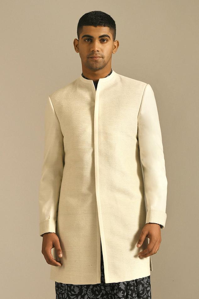 Silk Short Sherwani