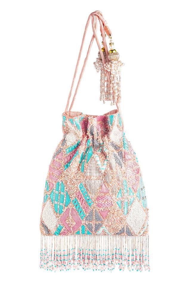 Bead Tassel Potli Bag